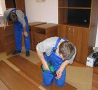 сборка и разборка мебели и стеллажей